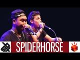SPIDERHORSE (GENE &amp CHRIS CELIZ)    Grand Beatbox TAG TEAM Battle 2017    Elimination