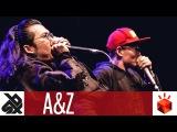 A&ampZ (ZHANG ZE &amp AH XIN)  Grand Beatbox TAG TEAM Battle 2017  Elimination
