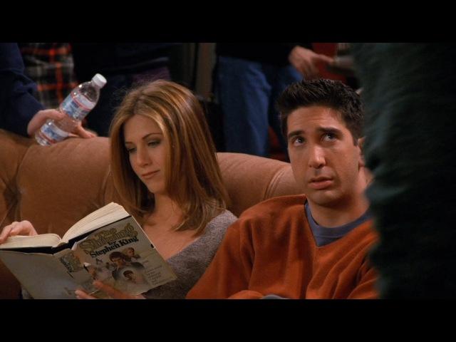 Друзья S03E13 Джоуи и Рейчел читают, а также шорты Роберта