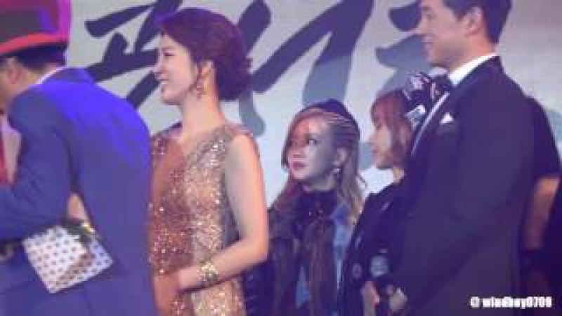 161206 티아라 희망콘서트 가수협회 남진선생님 초대명예의전당 축하멘트 영상