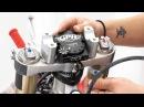 Установка роторного демпфера на кросс