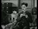 Charlie Chaplin. Modern Times . Coffee Drinking