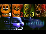 Five Nights at Freddy's Sister Location FNAF 1 2 3 4 Jumpscares Simulator
