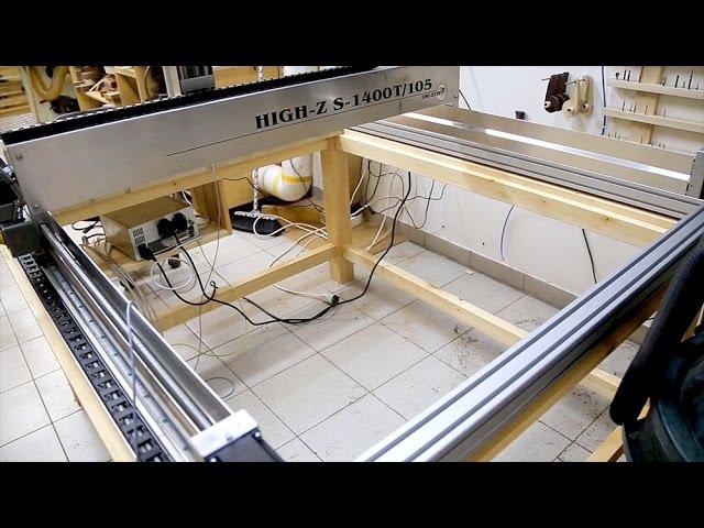 New CNC Machine High-Z S-1400/T-105