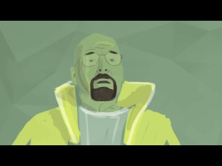 The animated story of Breaking Bad [Breaking Bad breakingbad Во все тяжкие]