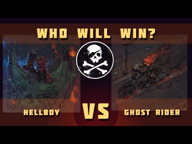 VS ART CHALLENGE 03  Hellboy VS isometric Ghost Rider