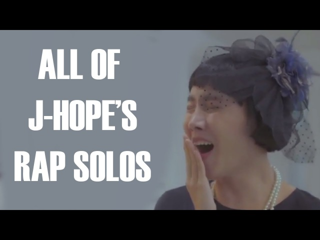 All of BTS J-Hope's Rap Solos (2C4S-YNWA)