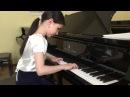 Alexandra Dovgan 8 y o Carl Czerny Еtude №15 op 299