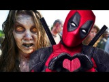 What If DEADPOOL Was in THE WALKING DEAD (FUNNY MASHUP TRAILER!)