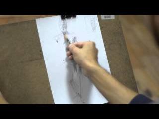 Рисунок фигуры человека. Набросок