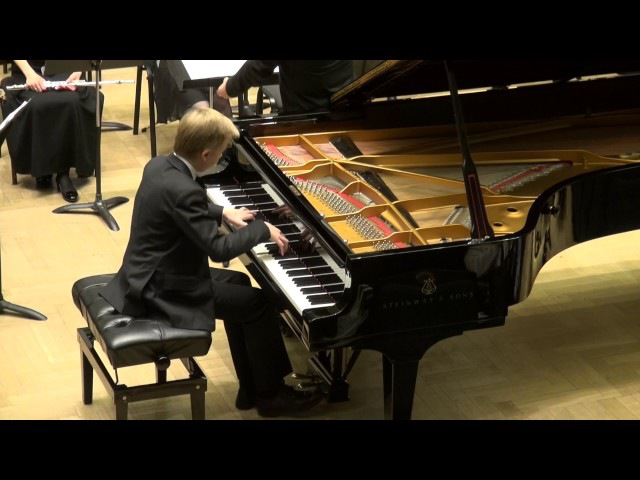 E.Grieg Piano Concerto A-minor Op.16, I mov.