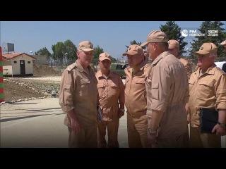 Сергей Шойгу встретился с президентом Сирии и посетил военную базу «Хмеймим»