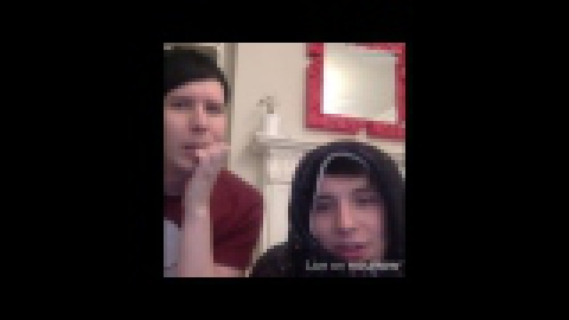 Wholesome howell in phil's liveshow