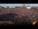 На площадь в Рейкьявике поболеть за исландскую сборную пришли 15 тысяч человек