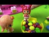 Мультики Апельсинка и Конфетка - Красивые клумбы! Детям про цветы. кукольный театр