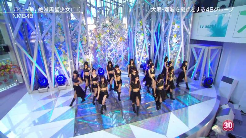 NMB48 - Zetsumetsu Kurokami Shoujo - LIVE