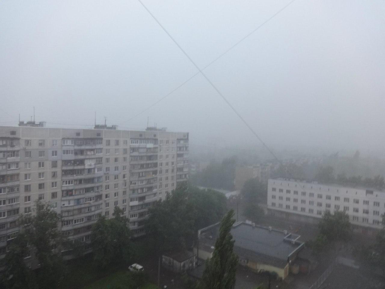 Горoд накрыла стихия (ФОТО, ВИДЕО)