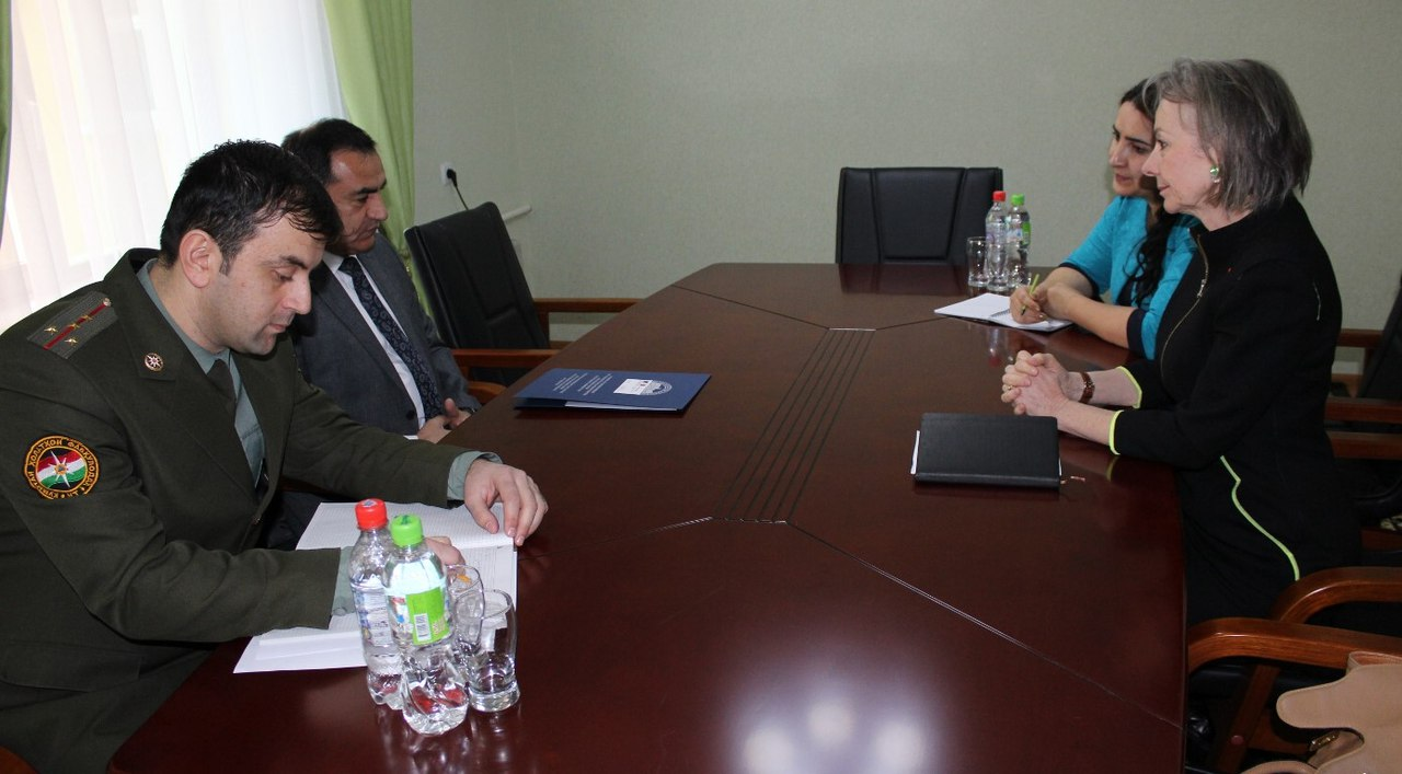 Франция поможет в деле улучшения материальной технической базы КЧС Таджикистана