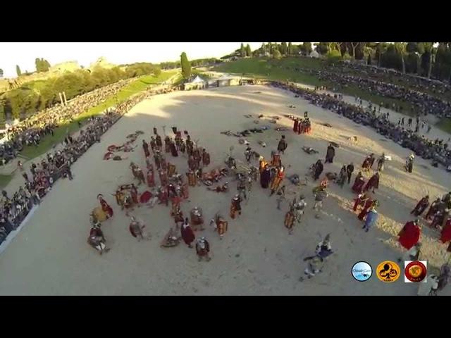 Riprese aeree con drone del Natale di Roma (video di Massimo DAlessandro)