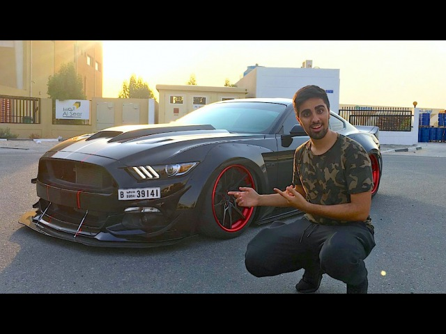 A MUSTANG ON STEROIDS