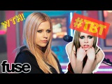 #TBT: AVRIL LAVIGNE DETAILS HER PINK SLIME HAIR DISASTER — FUSE TV [RUS SUB]