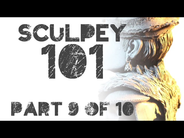 Sculpey 101 Class 9: Tutorial on How to Sculpt a Hair and Fur with Polymer Clay