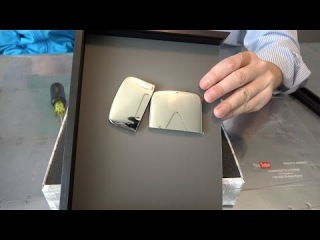 What's inside the YouTube Silver Play Button?