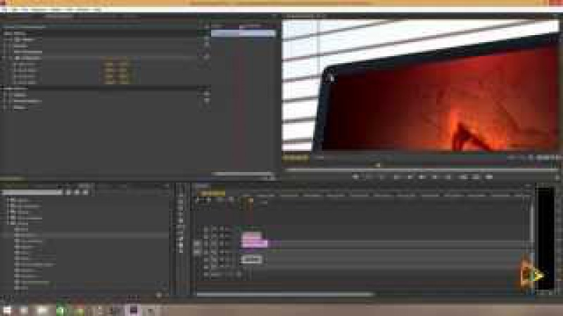 Perspective corner pin in Adobe Premiere Pro