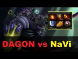 Carry Alchemist Dagon vs NaVi | WePlay