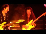 Steve Vai and Yngwie Malmsteen playing Black Star Generation AXE 2017 Singapore