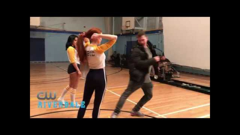BTS Riverdale- The Cast Rehearses with Choreographer Paul Becker