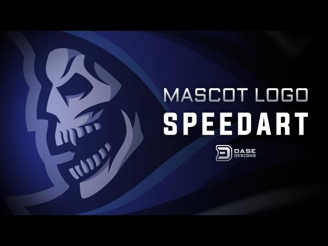Sports Logo SpeedArt | Mascot Logo | Dase Designs