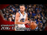 Stephen Curry Full Highlights 2017.01.12 vs Pistons - 24 Pts, 6 Ast, 5 Stls in 3 Quarters!