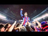 Lionel Messi Crazy Celebration/Reaction to Sergi Roberto Winning Goal -Barcelona vs PSG 6-1