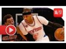 Carmelo Anthony Full Highlights vs Hawks (2017.01.16) - 30 Pts, 7 Reb