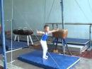 Спортивная гимнастика 2 юн  6 лет тренер Билык Г А