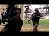 German Soldiers Simulate Charge On Enemy Held Position During Urban Military Training Exercise