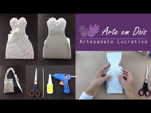 DIY Embalagem de Noivinha para Bem Casado
