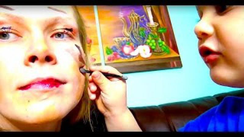 Бьюти блоггер. Вечерний макияж для мамы. Красота неописуемая. Beauty blogger. Make up for mom