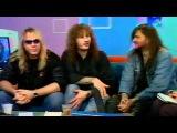 Helloween - MTV Russia Kapriz Broadcast Interview, pt.1 (24.05.2001)
