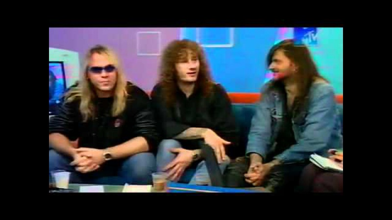 Helloween - MTV Russia Kapriz Broadcast Interview, pt.1 (24.05.2001)