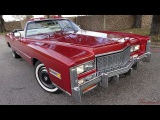 1976 Cadillac Eldorado Convertible survivor original