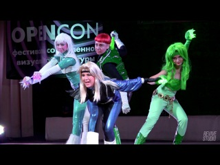 [OPENCON 2016: THM 5] Saiko! cosband - Justice League America - Guy Gardner, Ice, Fire, Black Canary