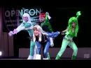 OPENCON 2016 THM 5 Saiko! cosband - Justice League America - Guy Gardner, Ice, Fire, Black Canary