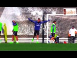 Cristiano Ronaldo Incredible Goal In Training Real Madrid 05.02.2017