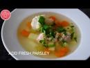 Уха Pыбный Cуп русская кухня Ukha Russian Fish Soup English