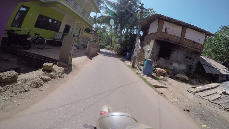 Арамбольская дорога от дома до пляжа