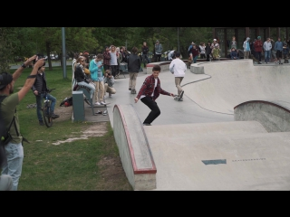 Levi's Skateboarding и Траектория: открытие сезона.