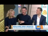 Tom Hiddleston, Sienna Miller and Luke Evans on the Today Show - April 20, 2016