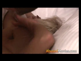 A Hot Kinky Blonde Forced To Suck Hard As Rock Cock
